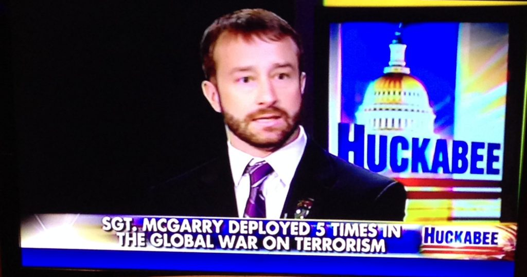 Grant McGarry on Mike Huckabee Show