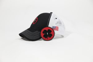 Trucker hat and Shamrock patch combo