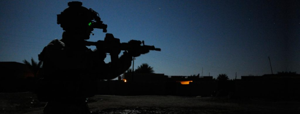 Night-time Ranger mission in Iraq